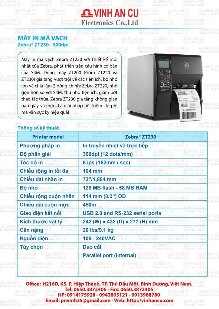 Zebra ZT230 300 dpi