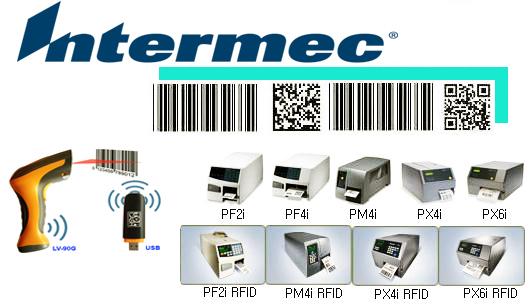 Máy in mã vạch Intermec