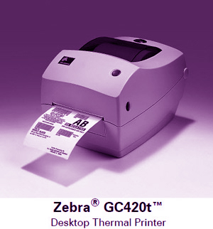 máy in Zebra GC420T