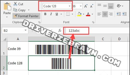 Cách tạo mã vạch trong Word, Excel