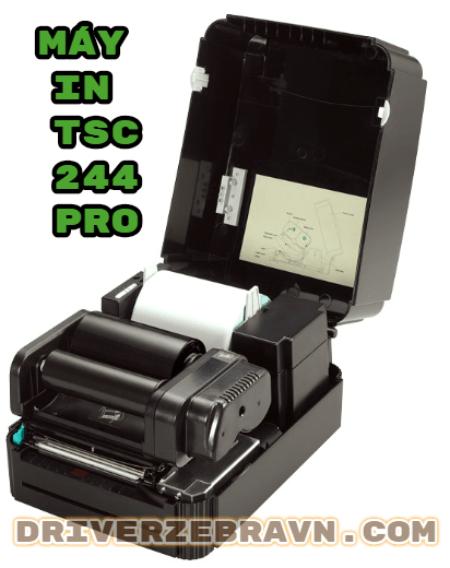 máy in mã vạch TSC 244 Pro, may in tsc chinh hang