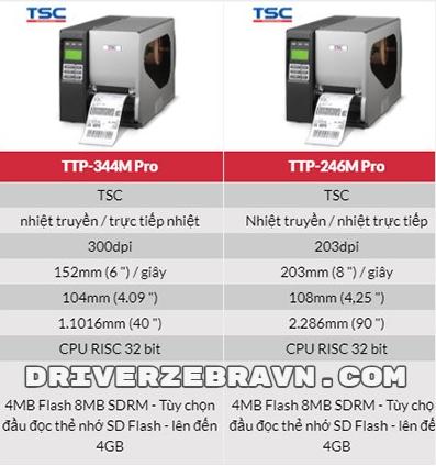 máy in TSC 344 Pro