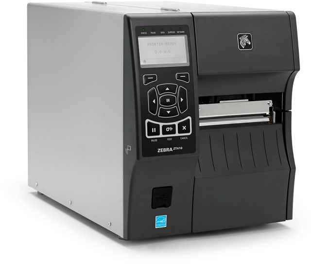 Cách cài máy in Zebra ZT410 600 DPI