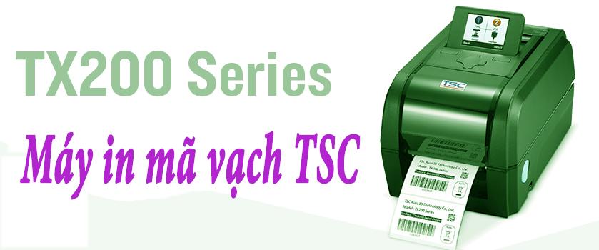 Máy in mã vạch TSC TX200