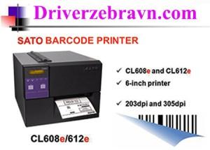 Mua máy in Sato CL612e giá rẻ 2018
