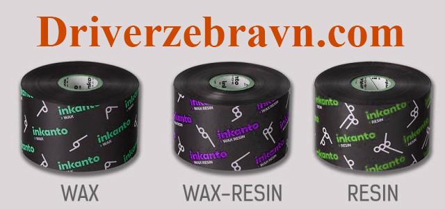 Mực in Wax Resin Inkanto
