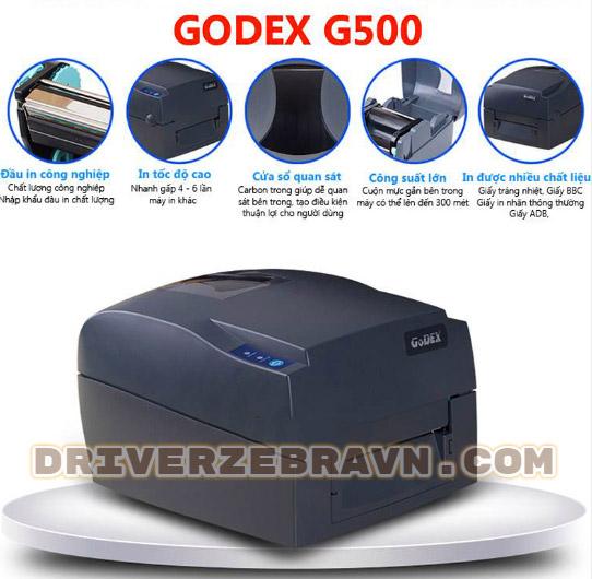 máy in Godex G500
