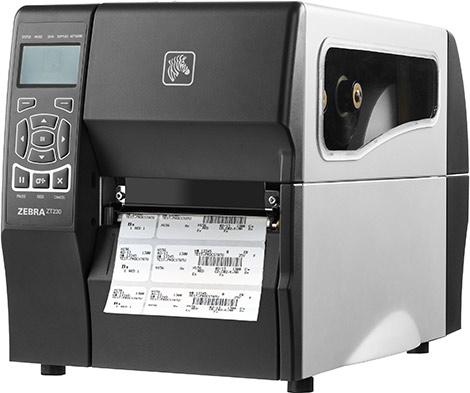 máy in barcode Zebra ZT230