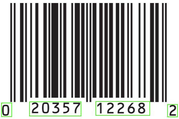 Cách đọc mã vạch 12 số như thế nào ?