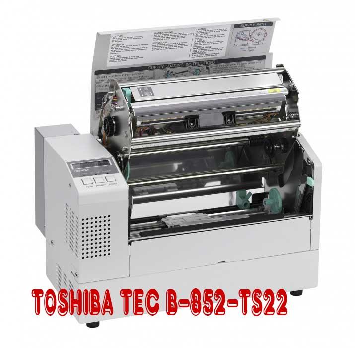 Máy in mã vạch TOSHIBA TEC B-852-TS22, may in ma vach toshiba gia re