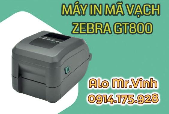máy in tem màu GT800 300dpi , máy in tem màu, máy in mã vạch màu