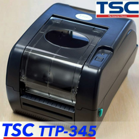 máy in tem dao cắt TSC 247, 345