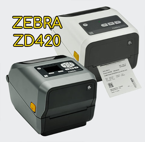 Máy in tem Zebra ZD420 dòng để bàn, may in tem zebra zd420