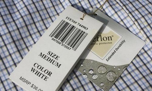Máy in mã vạch shop thời trang