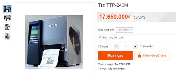 Máy TSC TTP 246M Pro