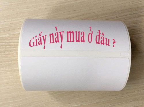giấy in tem mã vạch