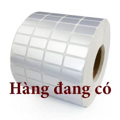 giấy in mã vạch xi bạc