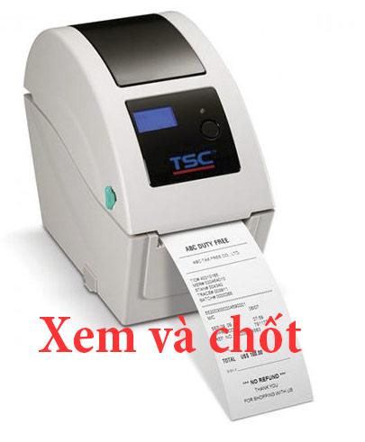 dòng máy in TSC