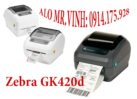 máy in nhãn zebra gk420