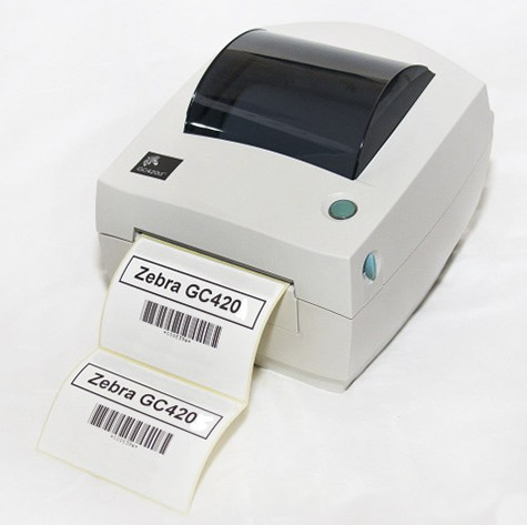 máy in tem mã vạch zebra gc420d