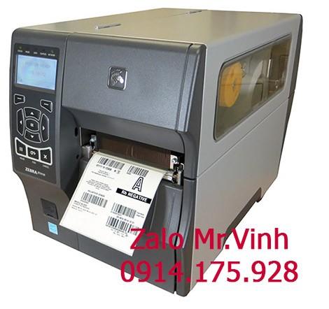 giấy decal cho máy in Zebra ZT410