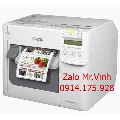 Nên in nhãn màu bằng máy in mã vạch EPSON C3510