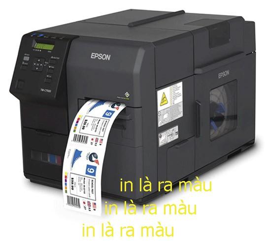 máy in tem nhãn nhiều màu