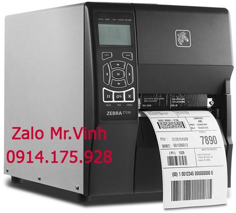 mực in tem cho máy Zebra ZT230