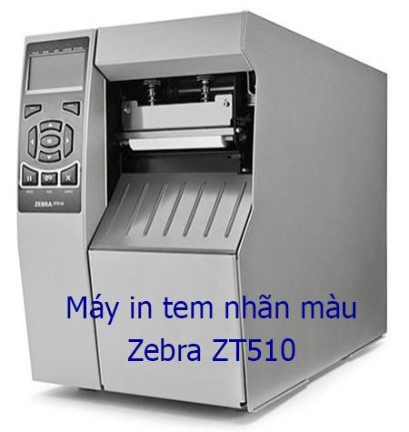 máy in tem màu Zebra ZT510
