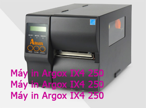 Máy In Argox IX4 250 Giá Rẻ Đà Lạt VIP