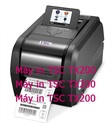 Máy In Tem TSC TX200 Giá Rẻ Cực Sook Tại HCM