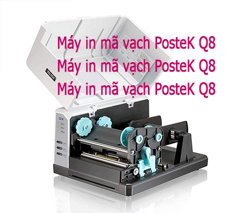 Máy in Postek Q8 giá rẻ, thiết kế nhỏ gọn