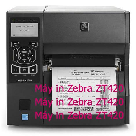 Máy in Zebra ZT420 giá rẻ tốt nhất hiện nay