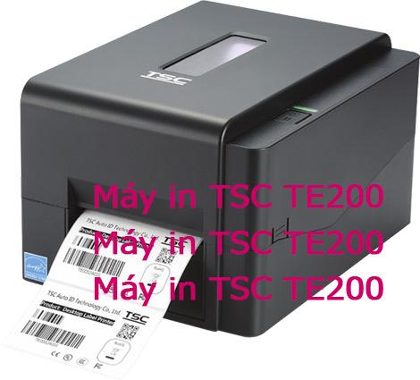 Máy in nhãn TSC TE200 giá rẻ hiệu Đài Loan