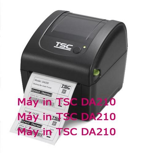 Máy in tem TSC DA210 - DA220 giá rẻ Đà Lạt