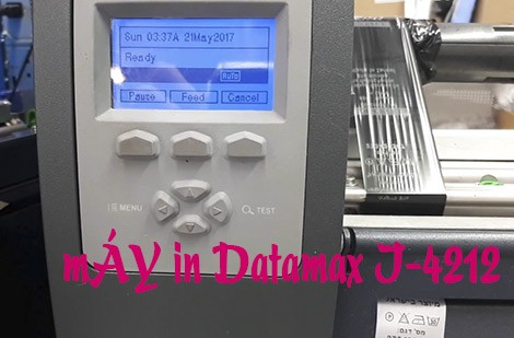 25 triệu mua được máy in Datamax I4212 độ tin cậy cao