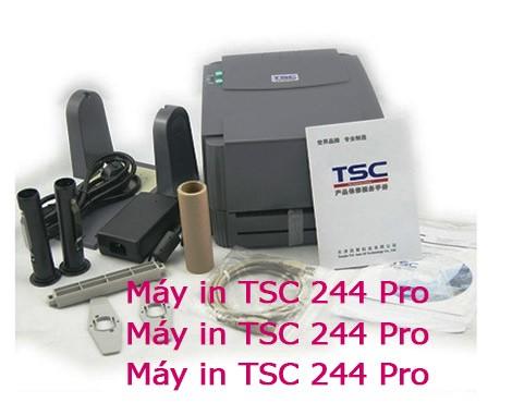 Máy in tem TSC 244 Pro giá rẻ 4,5 triệu hàng nhập