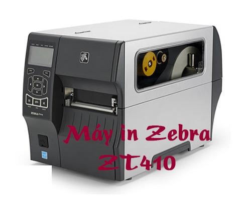 Máy in barcode Zebra ZT410 giá 24,9 TR hàng Mỹ