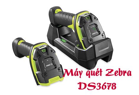 Máy quét 2D Zebra DS3678 không dây nên dùng