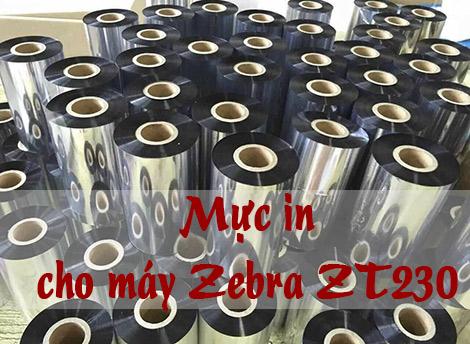 Mực máy in Zebra ZT 230 giá rẻ chính hãng USA