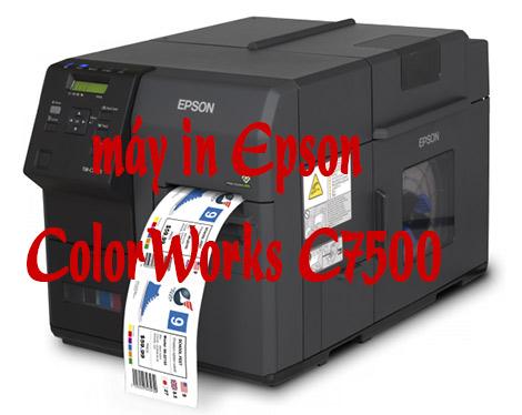 Nên mua máy in nhãn công nghiệpEPSON C7500