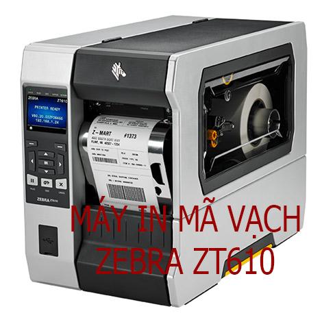 Mua máy tạo mã vạch công nghiệp ZT610 300DPI