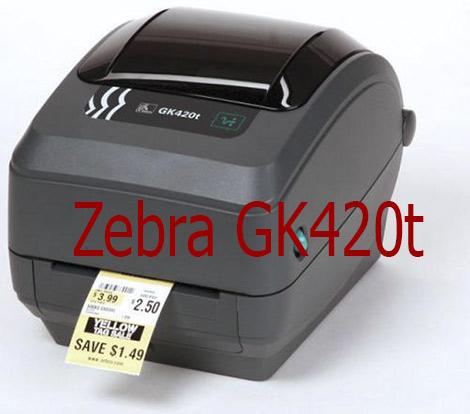 Zebra GK420t in mã vạch cho sản phẩm giá rẻ I