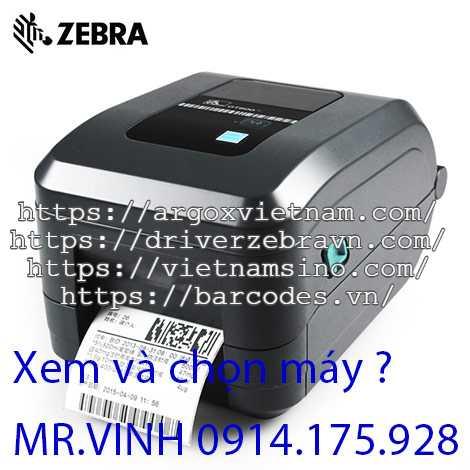 Cài đặt máy Zebra GT820 giá rẻ, nhanh chóng